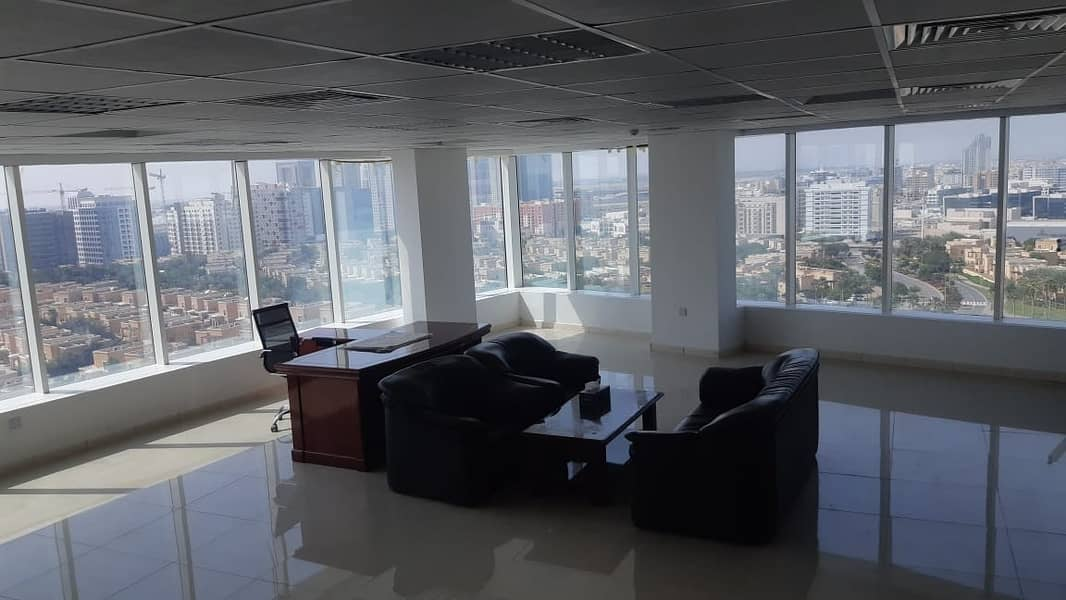 2 CHILLER FREE! VILLA VIEW SPACIOUS OFFICE FOR SALE