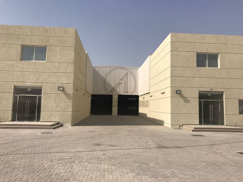 2 Warehouse with High Power for Lease in DIC