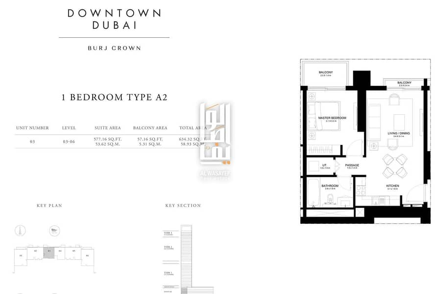 21 Pay 10% and own a luxury 2 BR apartment in Downtown with 4 years installments