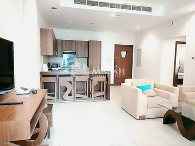 1 Bedroom Flat for Rent in Al Barsha, Dubai - Very Spacious Chiller Free 2 BHK With Fitted Kitchen Available For Rent @77 K