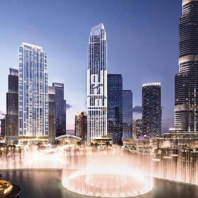 فلیٹ 2 غرفة نوم للبيع في وسط مدينة دبي، دبي - 2 BR Luxurious apartment with 6 years payment plan...