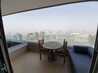 Studio for Rent in Dubai Sports City, Dubai - Elegant Furnished Studio Apartment in The Matrix
