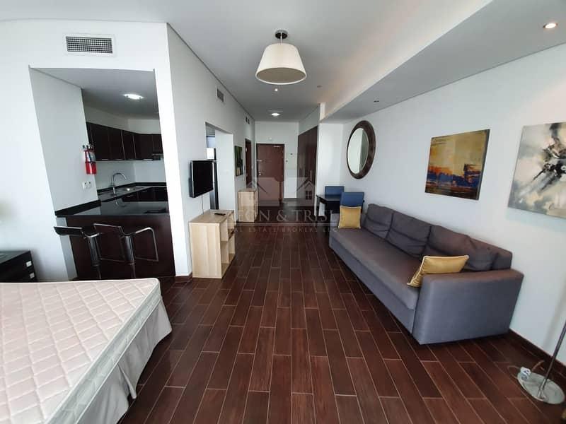 9 Stylish Studio I Fully Furnished I High Floor