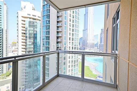 2 Bedroom Flat for Rent in Downtown Dubai, Dubai - Vacant March | High floor | Khalifa view