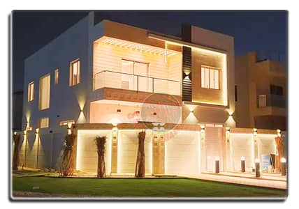 5 Bedroom Villa for Sale in Al Rawda, Ajman - New stunning villa for sale in Ajman- great facade -FREE HOLD