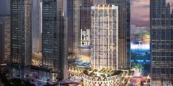 Last 1 BR unit with prime views in Burj Crown