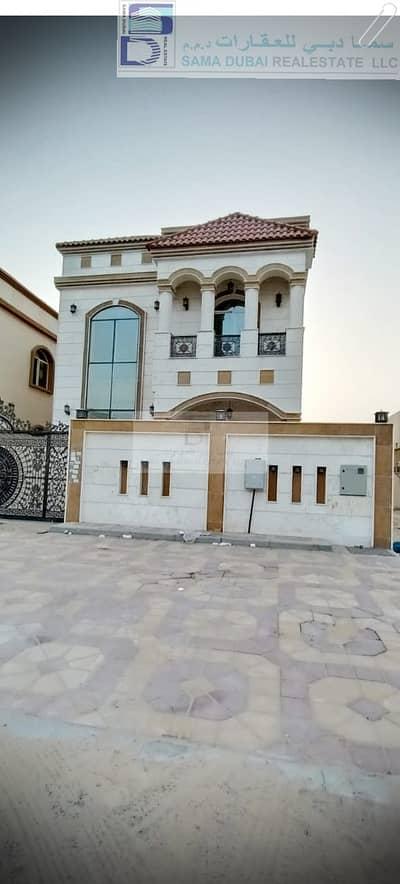 فیلا 6 غرف نوم للايجار في الروضة، عجمان - فيلا جديدة فخمة اول ساكن لللإيجار مطلة على شارع الشيخ عمار