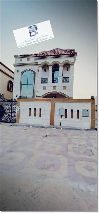 فیلا 5 غرف نوم للايجار في المويهات، عجمان - فيلا للايجار المويهات اول ساكن ممتازة جدا كهرباء مواطن مكييف مركزي موقع ممتاز