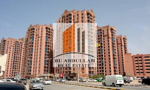 2 Bedroom Flat for Sale in Al Nuaimiya, Ajman - Two Bedroom Apartment Available For Sale In Al nauimeya Tower Has Open View