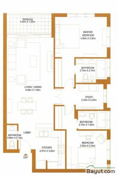 2 Bed - Type L