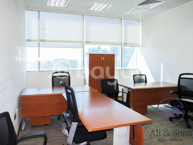 2 Free 1 month period | fully furnished office