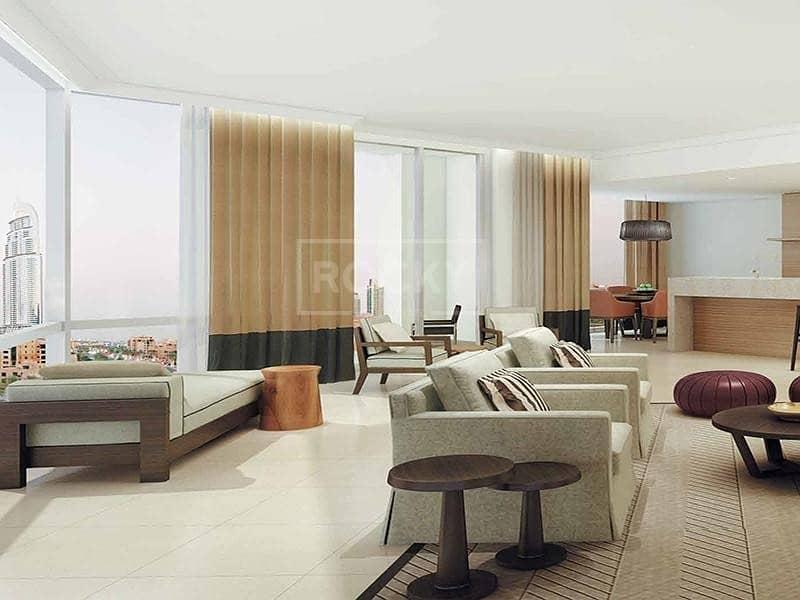 2-Bed | Sem- Furnished | Burj Khalifa View