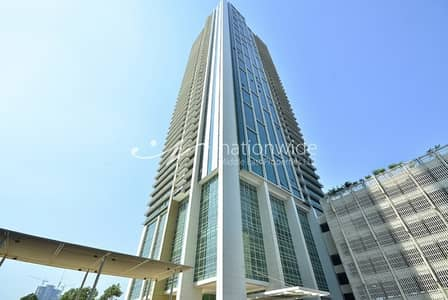 2 Bedroom Apartment for Sale in Al Reem Island, Abu Dhabi - A Convenient Apartment with Maid's Room In Ocean Terrace