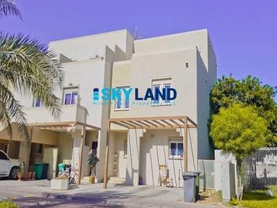 فیلا 4 غرف نوم للايجار في الريف، أبوظبي - Vacant ! Single Row Near the Community Centre