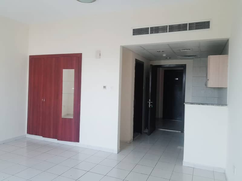 GREECE CLUSTER : STUDIO WITH BALCONY FOR RENT  IN INTERNATIONAL CITY ONLY IN 19000/-