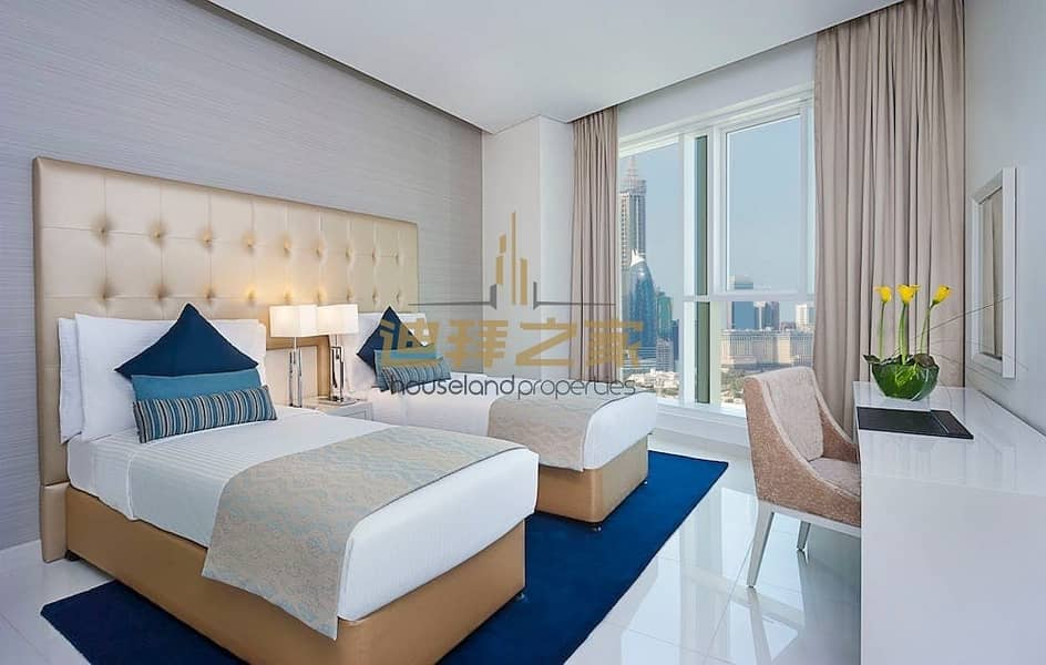 2 Luxury Furnished  2bed and 2 bath Hotel Apartment For Rent In a Great Price