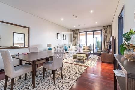 فلیٹ 1 غرفة نوم للايجار في نخلة جميرا، دبي - Huge and Fully Furnished 1 Bed Apartment