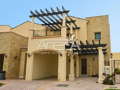 3 Bedroom Villa for Rent in Al Salam Street, Abu Dhabi - Spacious Light Filled Beauty With Brilliant Garden Views