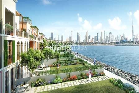 تاون هاوس 5 غرف نوم للبيع في جميرا، دبي - Sea Facing Villas | Post Payment Plan | Ready 2021