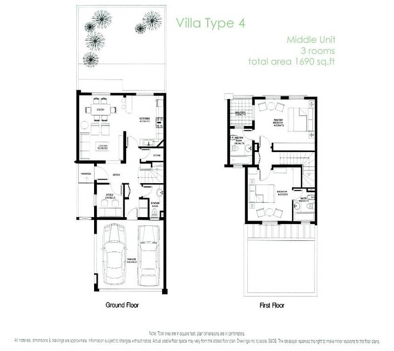 10 Backing Pool and Park | 2 Bedroom | Study