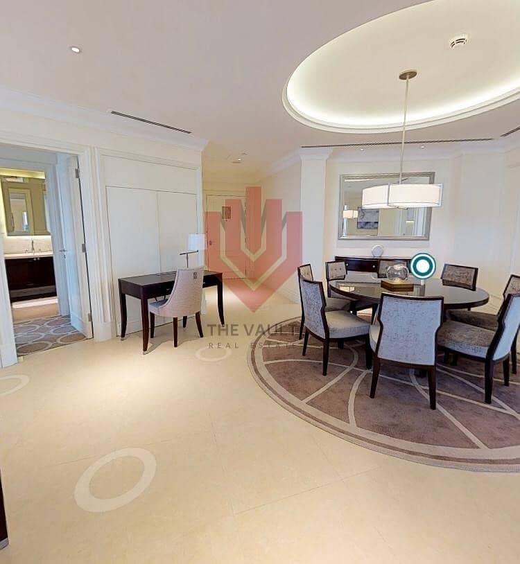 3 Bedroom + Maids | Hotel Apartment | Fountain View