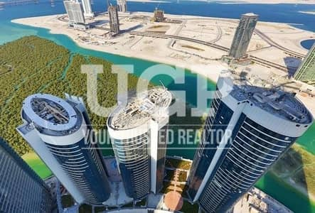 Studio for Rent in Al Reem Island, Abu Dhabi - Big Layout | Converted to 1BR Fully Furnished Apt.