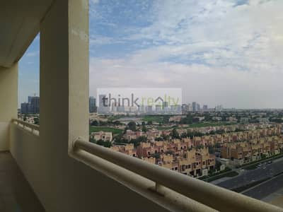 2 Bedroom Apartment for Rent in Dubai Sports City, Dubai - Frankfurt Sports Tower - Golf view
