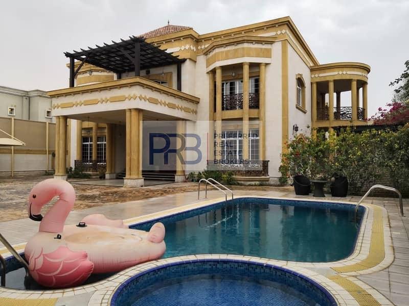 Luxury 5 Br Villa Al Barsha 2 / Big Garden/ Swimming  Pool