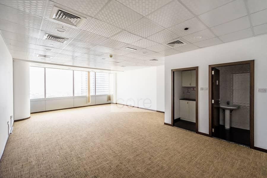 Well lit fitted office | Mid floor | AU Tower