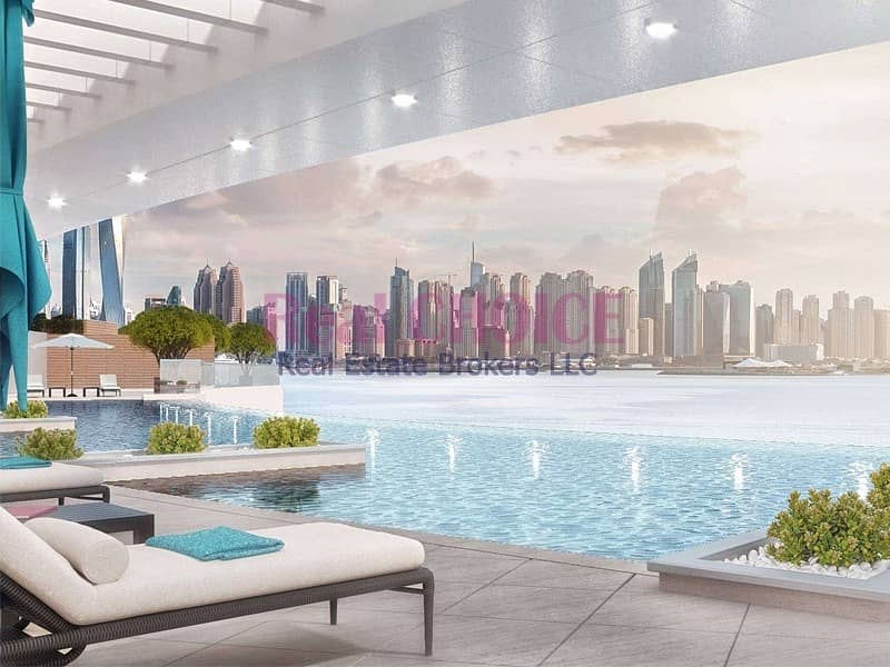 Big Layout Of 3BR Apartment|Lavish View Of The Sea