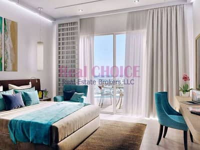 Amazing View Of 1 BR Hotel Apartment|Furnished