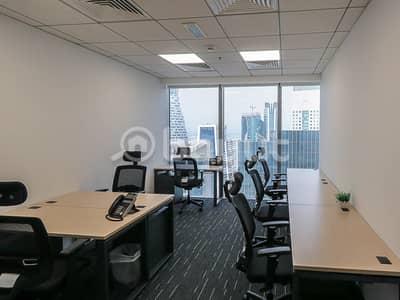 مکتب  للايجار في الخليج التجاري، دبي - WOW DEAL ! Five Star Facilities  |  Independent Offices | High Floor