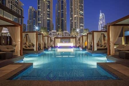 فلیٹ 3 غرف نوم للايجار في وسط مدينة دبي، دبي - Luxury Furnishing | Golden Touch | 3 Bed+ Maids