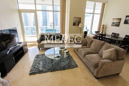 2 Bedroom Apartment for Rent in Dubai Marina, Dubai - Full Marina View I Fully Furnished I Corner unit
