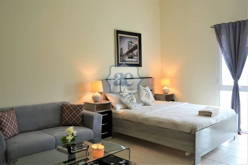 2 Elegant Studio apartment for rent in Dubai near mall