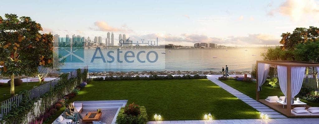 18 Sea Facing Villa | La Mer | Dubai Skyline View