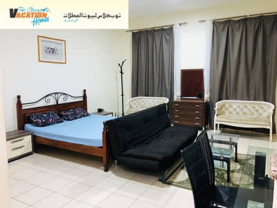 Studio for Rent in International City, Dubai - DAILY I WEEKLY I MONTHLY I LUXURY FURNISHED APARTMENTS IN INTERNATIONAL CITY