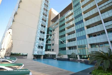 Pool View 1 BR with Balcony +Rental Back