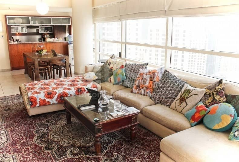 2 Beautiful 3 bhk with Marina view and JBR