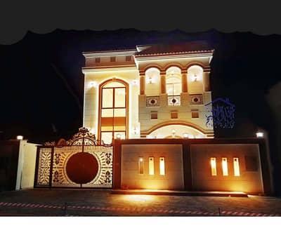 فیلا 5 غرف نوم للايجار في المويهات، عجمان - العلامة التجارية الجديدة فيلا فاخرة مؤامرة ثانية لشيخ عمار طريق للإيجار مع AC