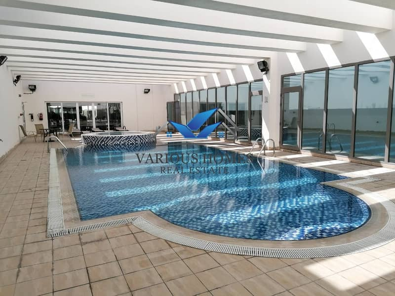 Amazing 02 BR Apartment I Balcony I Parking Pool Gym in Tower