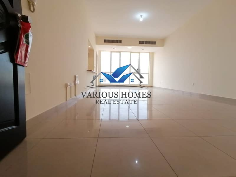 2 Beautiful 01 bedroom Hall Apartment with Tawtheeq at 21st muroor road 50-k in 04-Chq