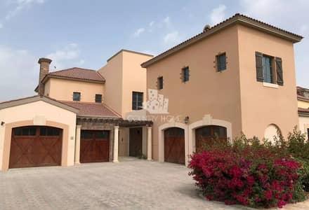 فیلا 5 غرف نوم للايجار في عقارات جميرا للجولف، دبي - Golf Course View | Upgraded Featured Villa for Rent