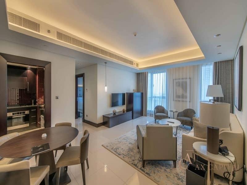 07 Series I 1 Bedroom + Study I Burj Khalifa View