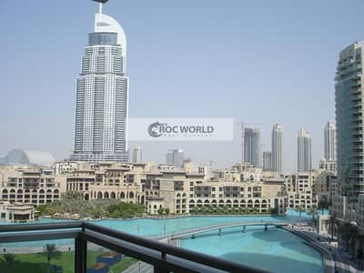 فلیٹ 1 غرفة نوم للبيع في وسط مدينة دبي، دبي - Perfect Fountain & Lake View | 1 Bedroom Apartment with Balcony