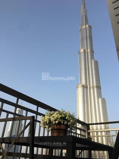 فلیٹ 1 غرفة نوم للبيع في وسط مدينة دبي، دبي - Fully Ugraded | Burj khalifa & boulevard View