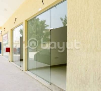 Shop for Rent in Al Mowaihat, Ajman - For rent commercial shop in Al Mowaihat   directly from the owner