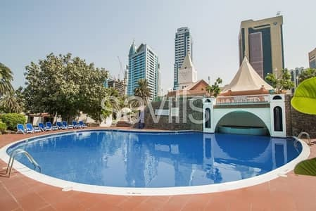 3 Bedroom Villa for Rent in Al Majaz, Sharjah - Furnished 3 bed villa with hotel amenities