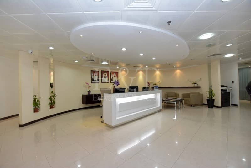 |Move in Sea View Office Hamdan Services included|