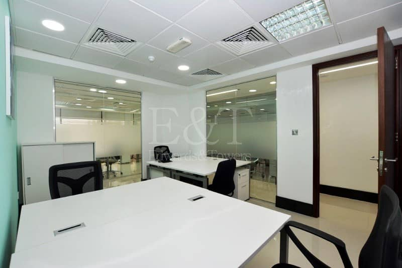 9 |Move in Sea View Office Hamdan Services included|